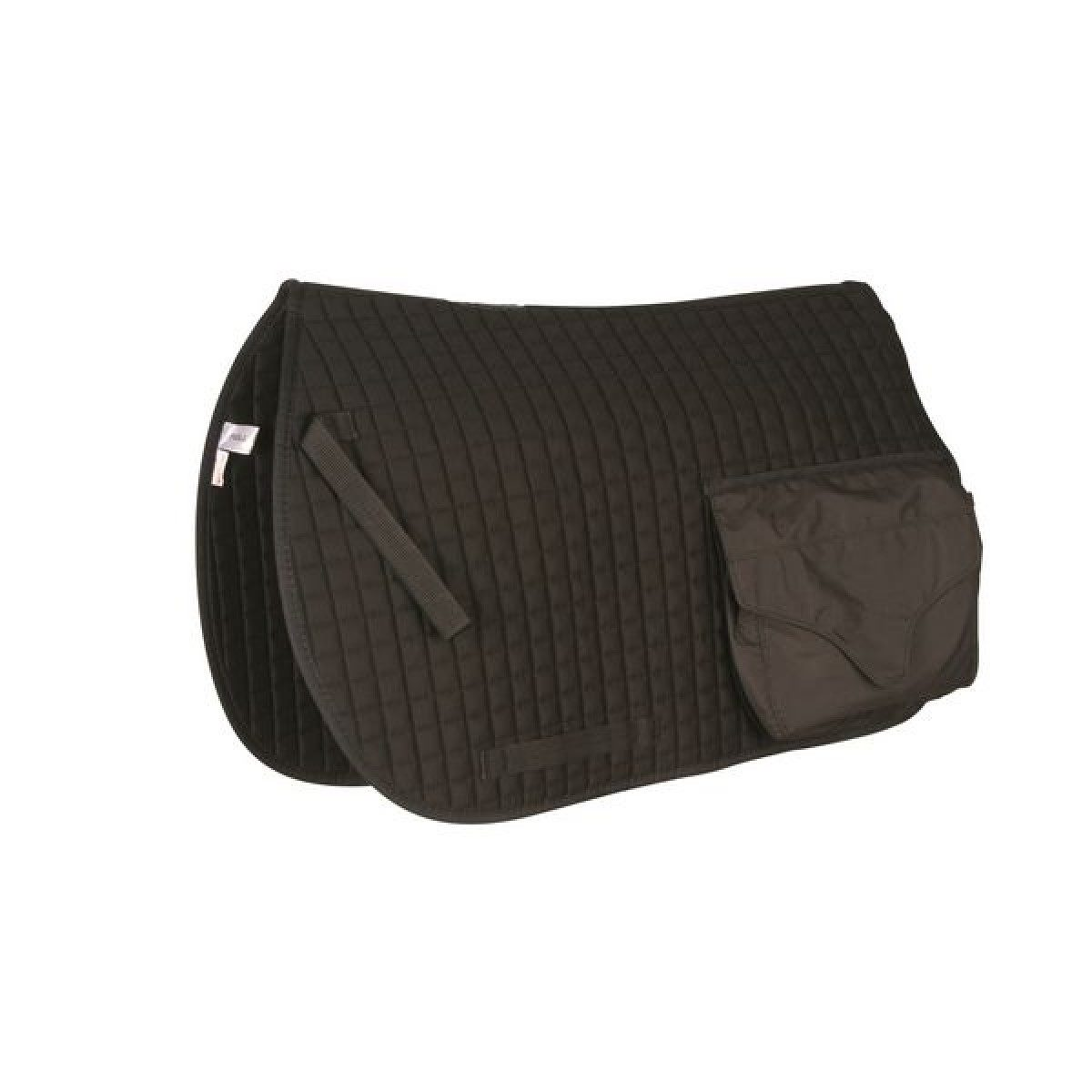 Roma Cotton Saddle Pad c/w Pockets