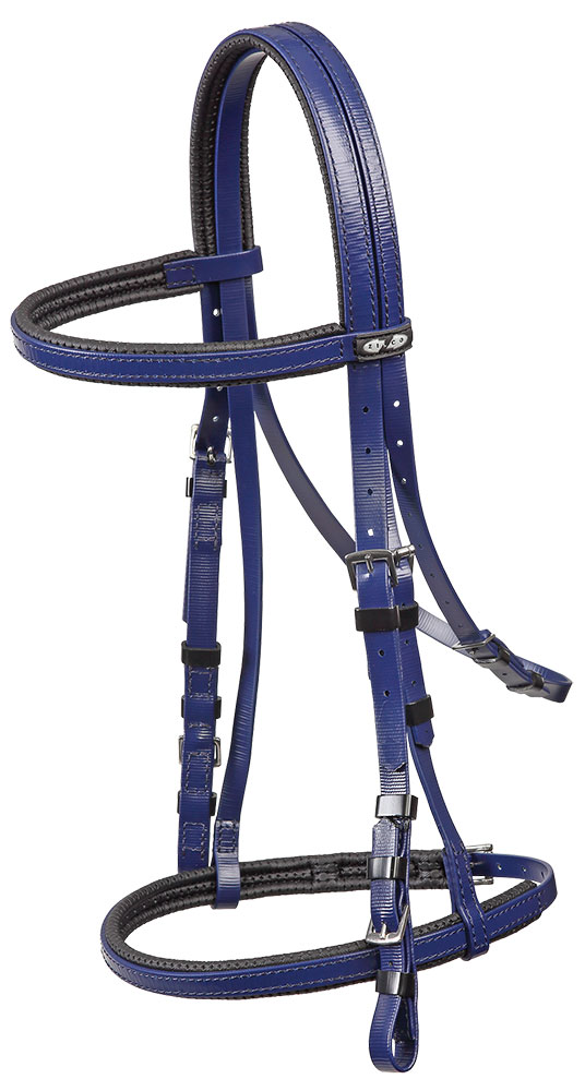Padded Bridle With Cavasson
