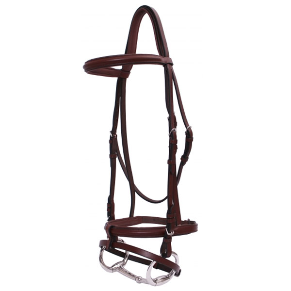Wide Raised Crank Hanovarian Bridle