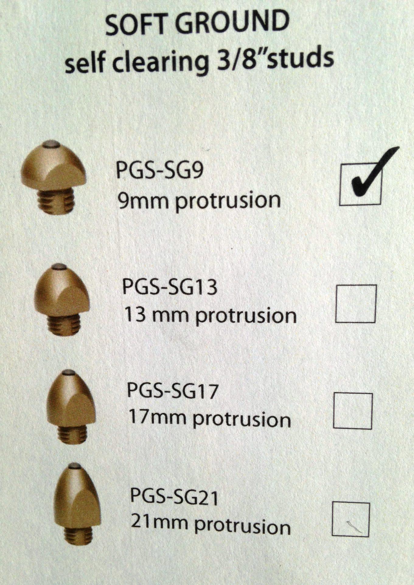 Pro Grip Studs - Soft Ground