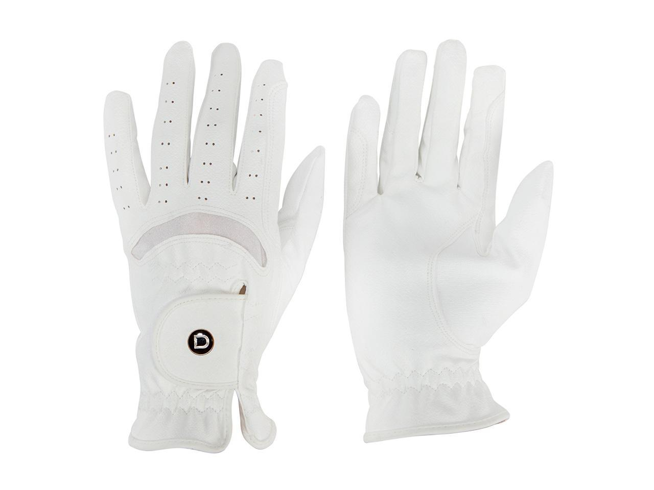 Dublin Dressage Gloves White