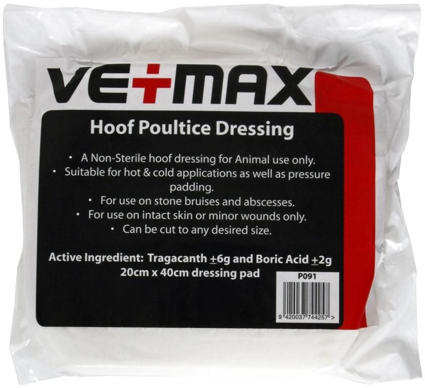 Hoof Poultice Dressing