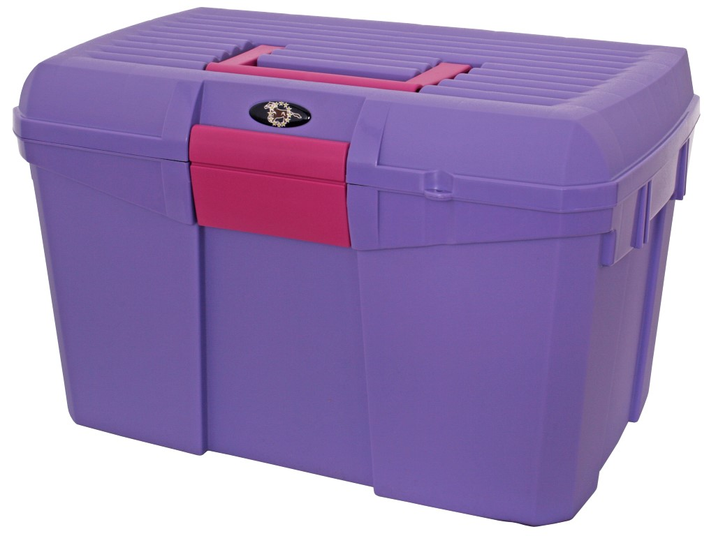 Stackable Grooming Box lavender