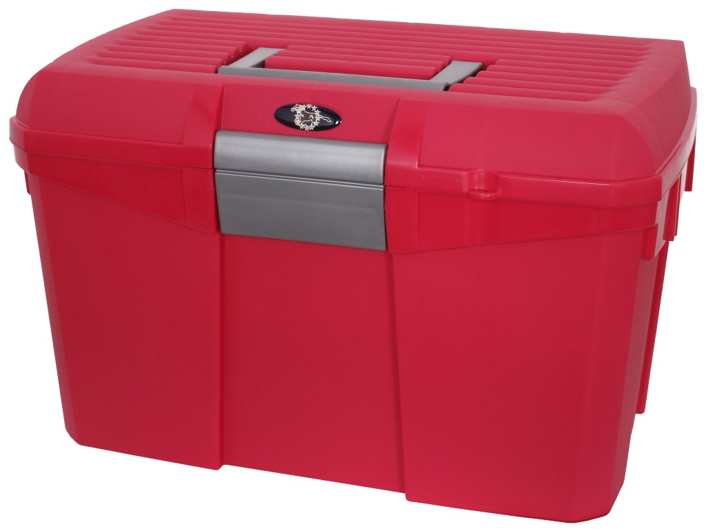 Stackable Grooming Box red