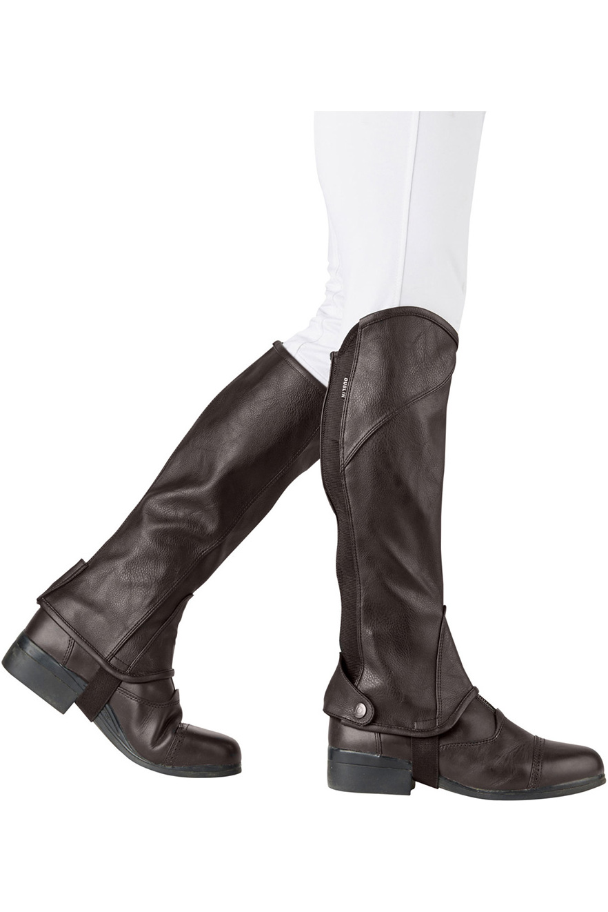 Stretch-Fit-Half-Chaps-Brown