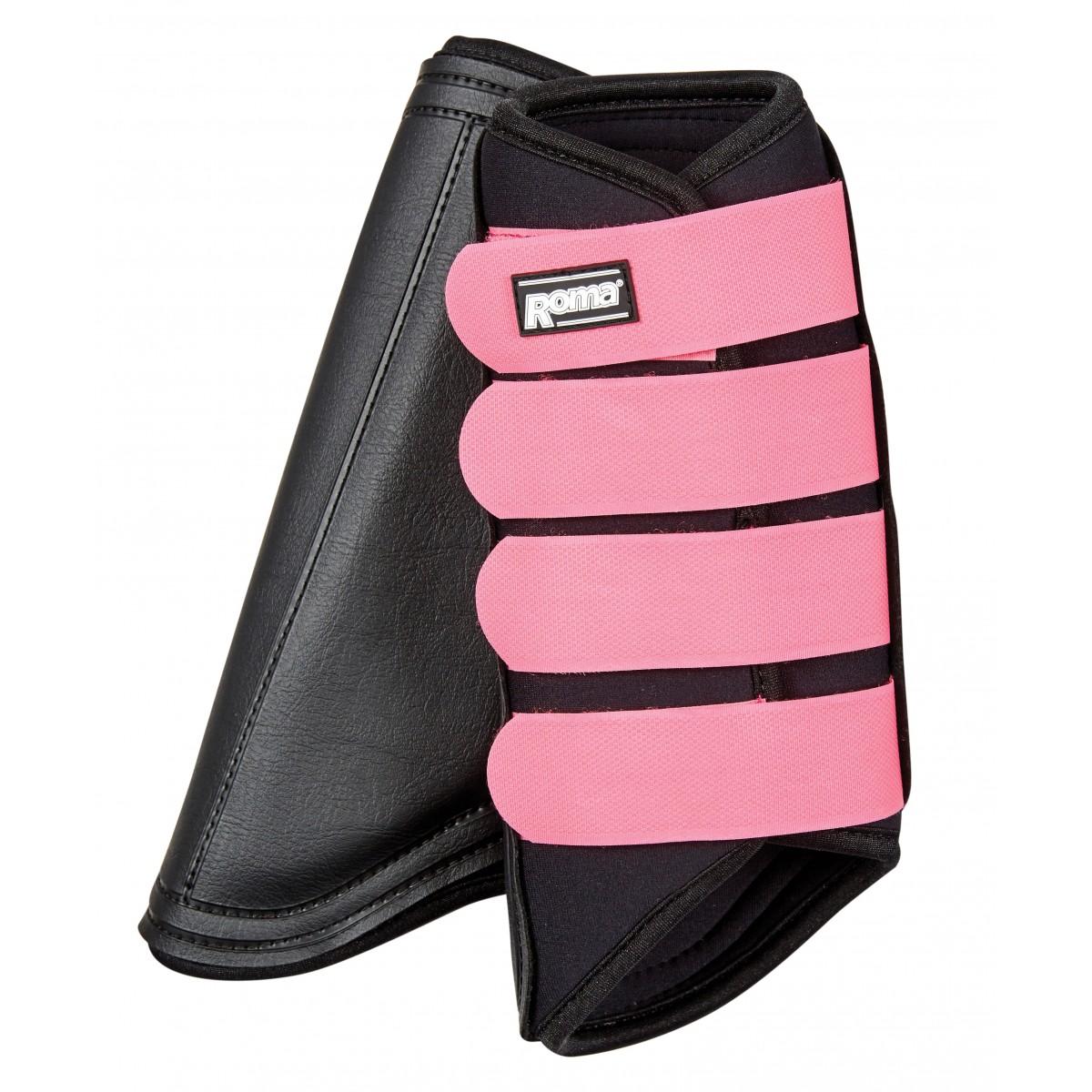 Neoprene Brushing Boots Black Pink