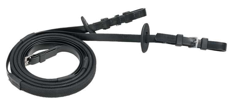 16mm buckle end black black