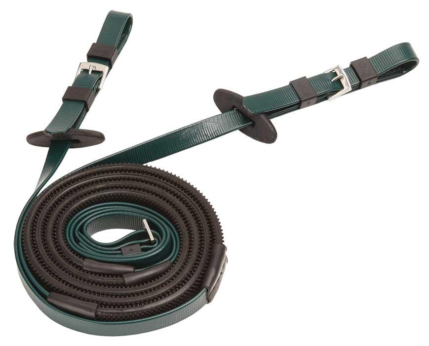 16mm buckle end black green