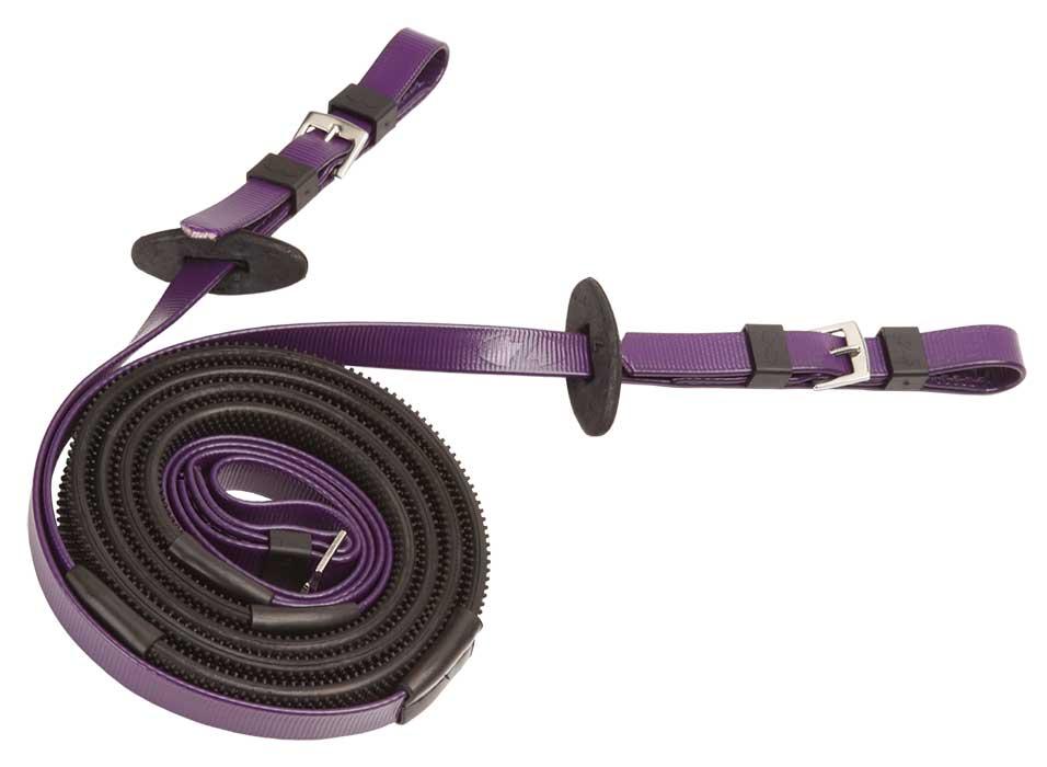 16mm buckle end black purple