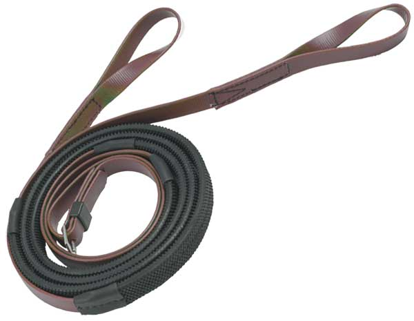 16mm loop end brown black