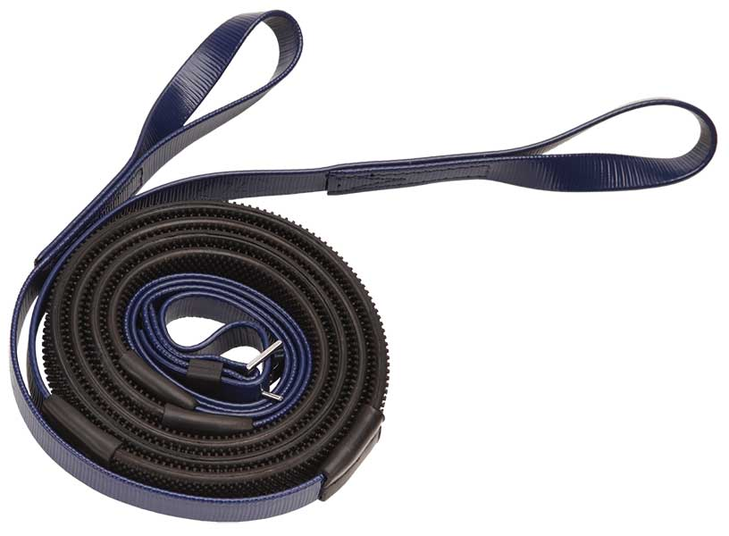 16mm loop end navy black