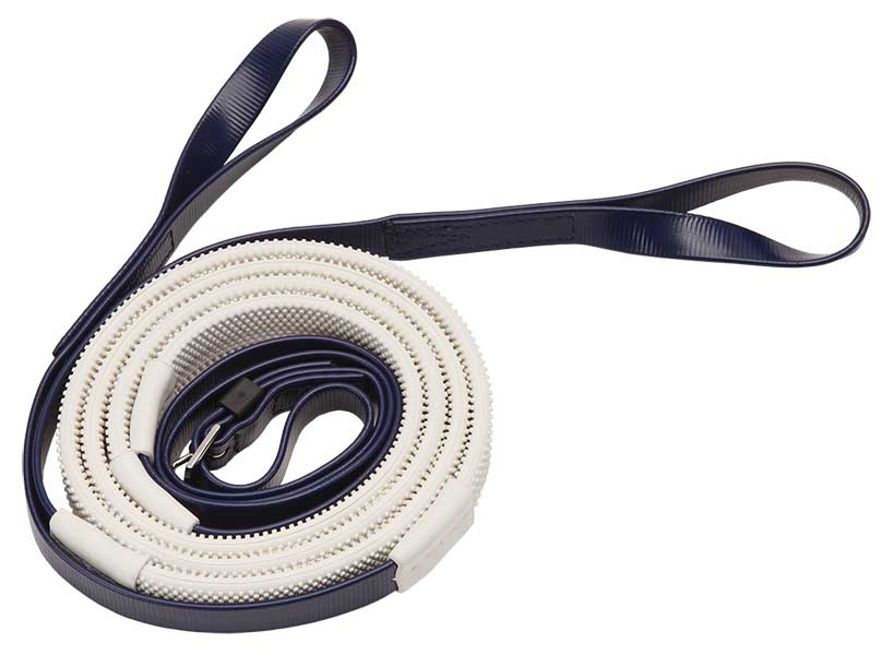 16mm loop end navy white