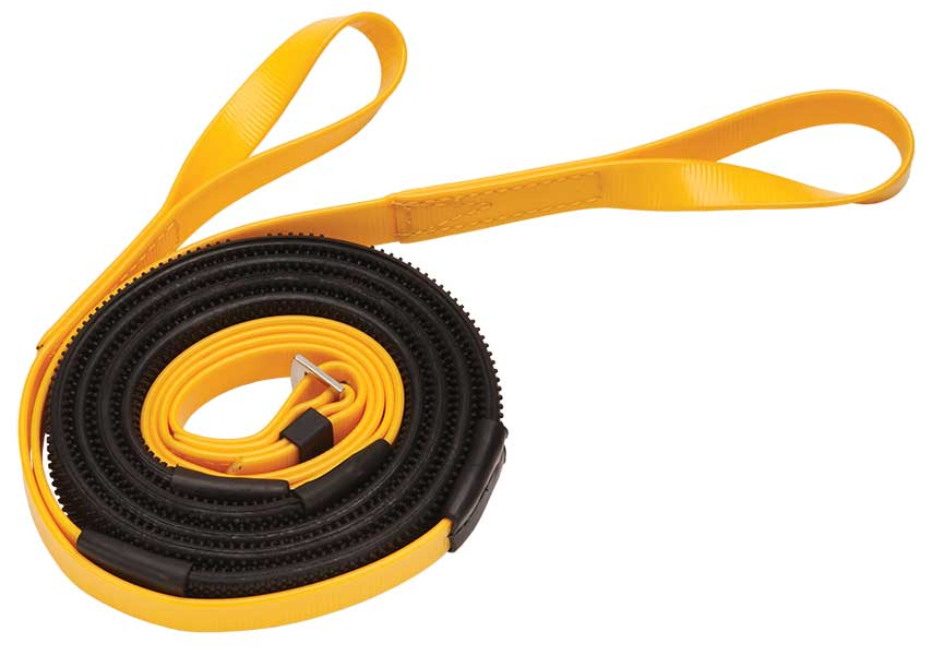 16mm loop end yellow black