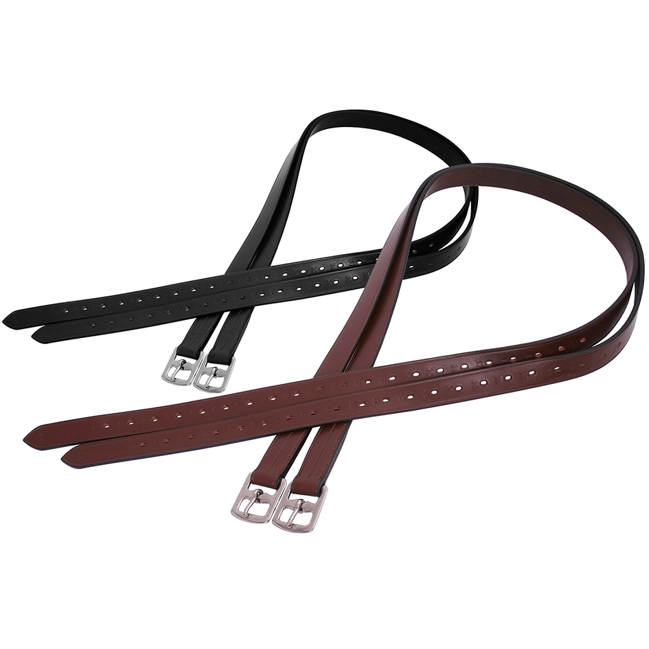 Pre-Stretched Stirrup Leathers