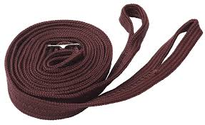 plain nylon reins brown