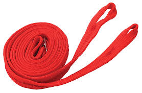 plain nylon reins red