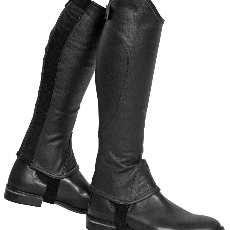 soft leather gaiter