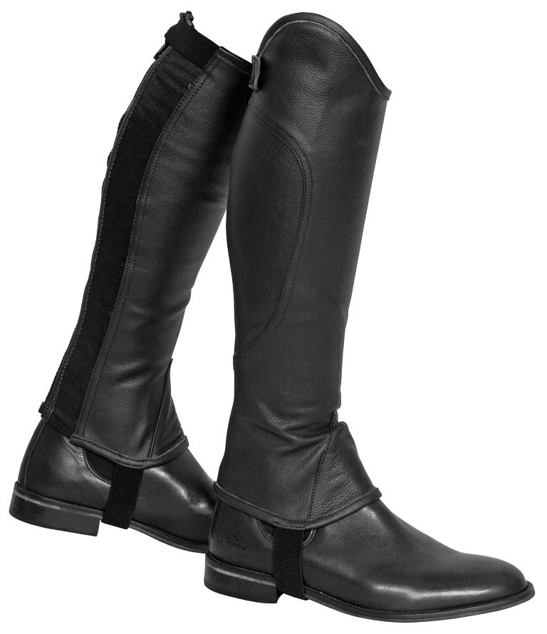 soft leather gaiter