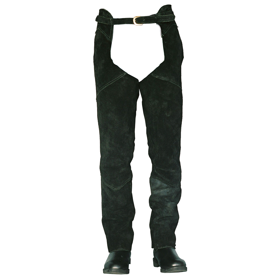 suede leather chaps