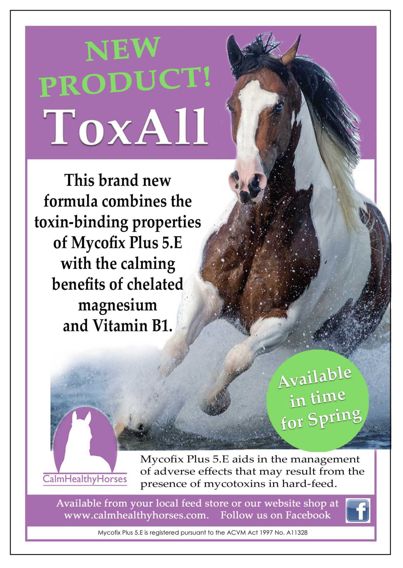 Calm Healthy Horse ToxAll