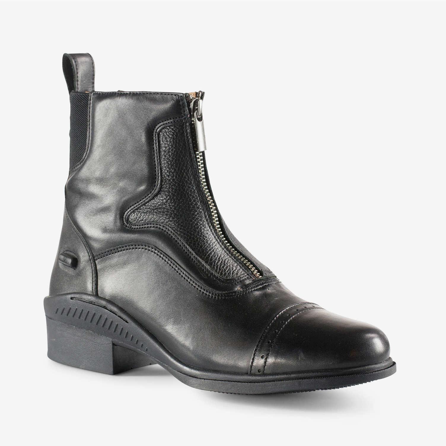 Suffolk Zip Front Jodhpur Boots