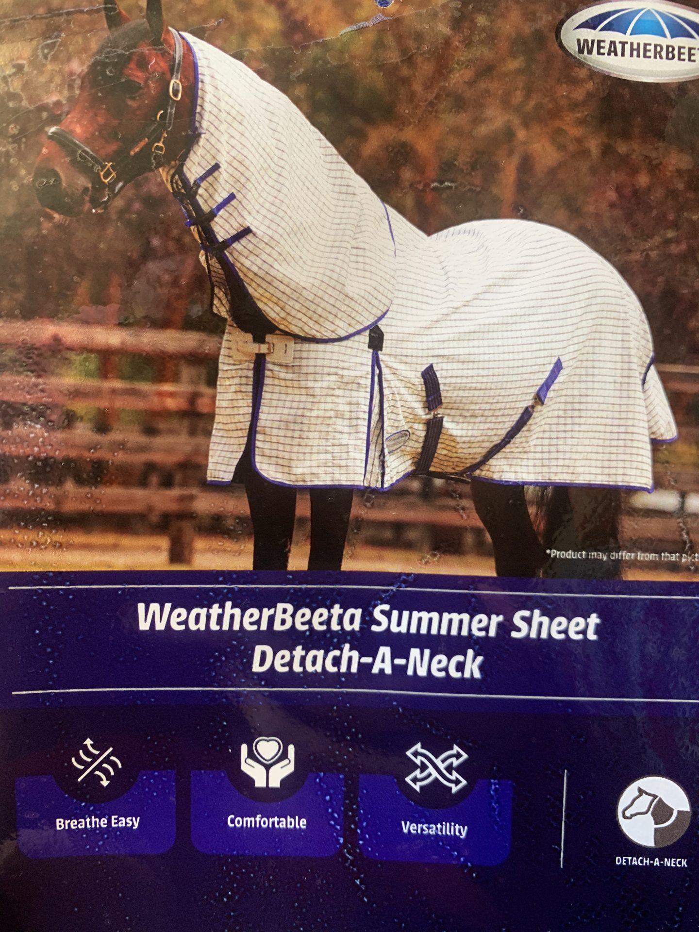 Summer Sheet Detach-A-Neck