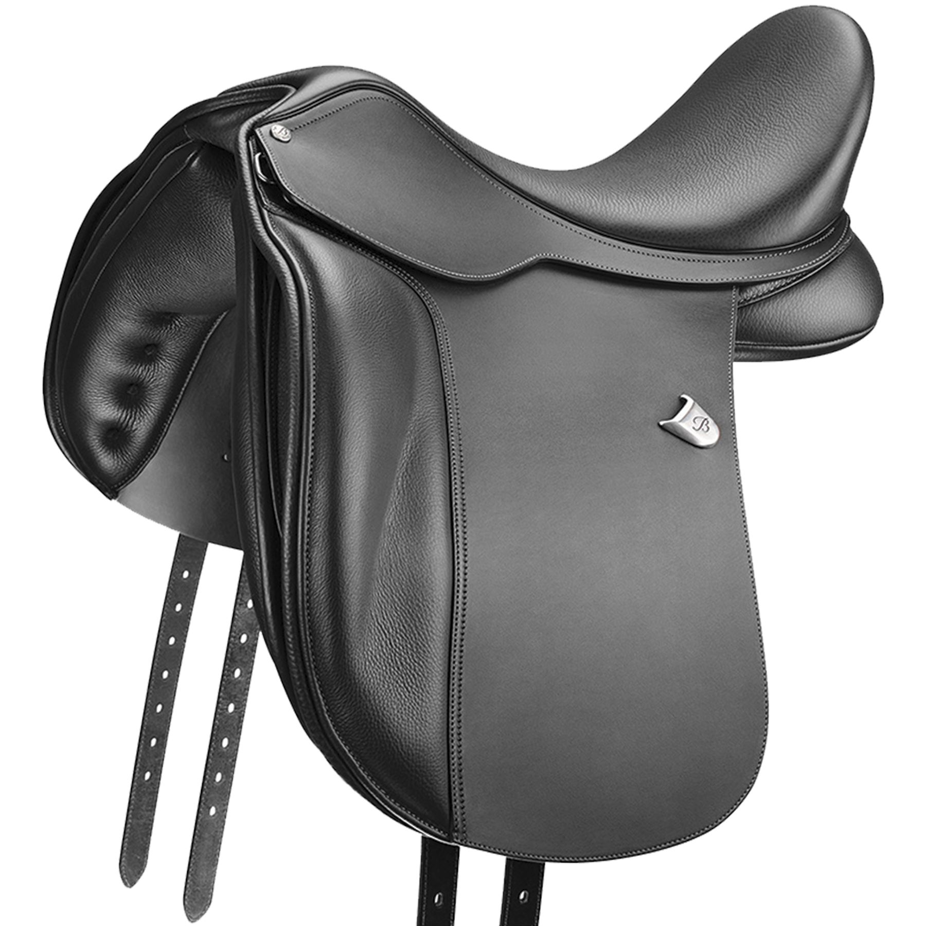 Bates Wide Dressage+ Luxe-Leather