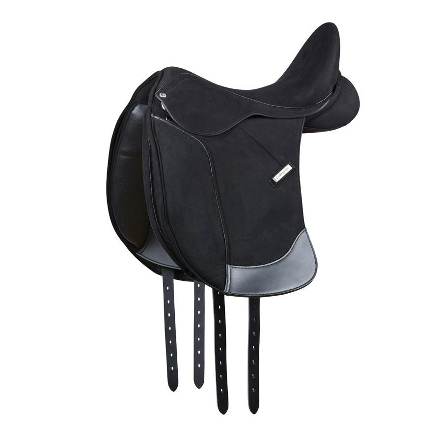 Collegiate Devon Synthetic Dressage Saddle