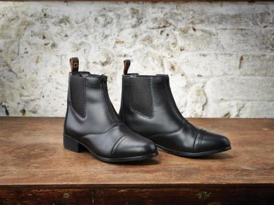 mens foundation zip jodhpur boots