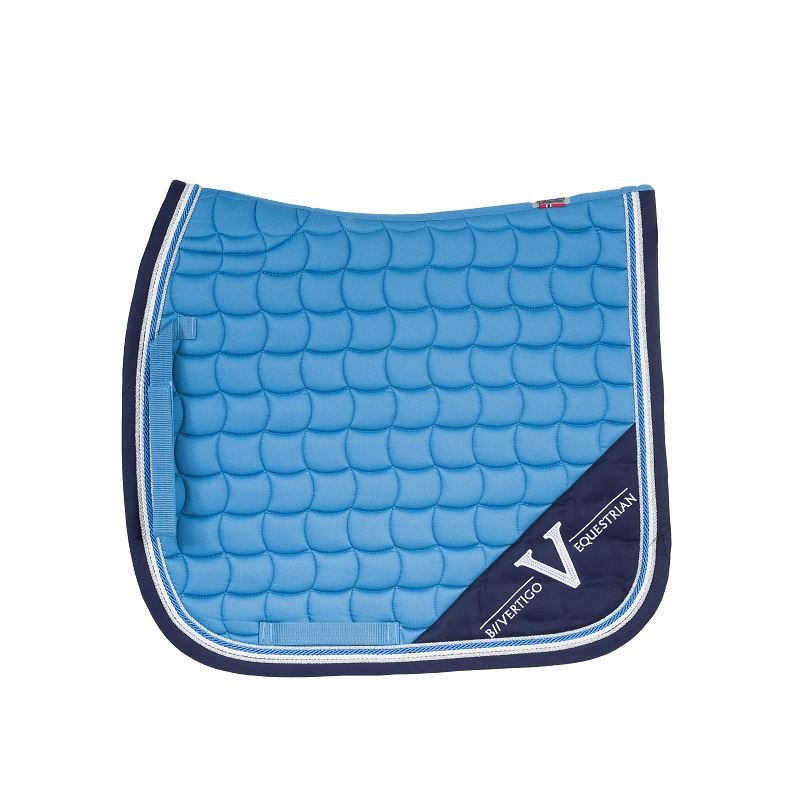 Lexington Dressage Saddle Pad deep water blue
