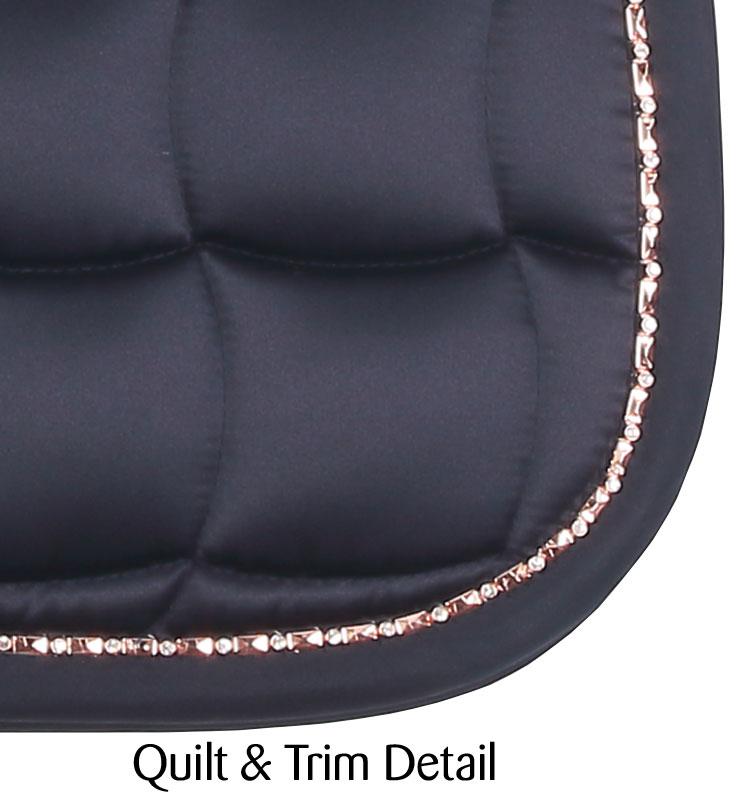 Bracelet Trim Dressage Saddlecloth navy ii