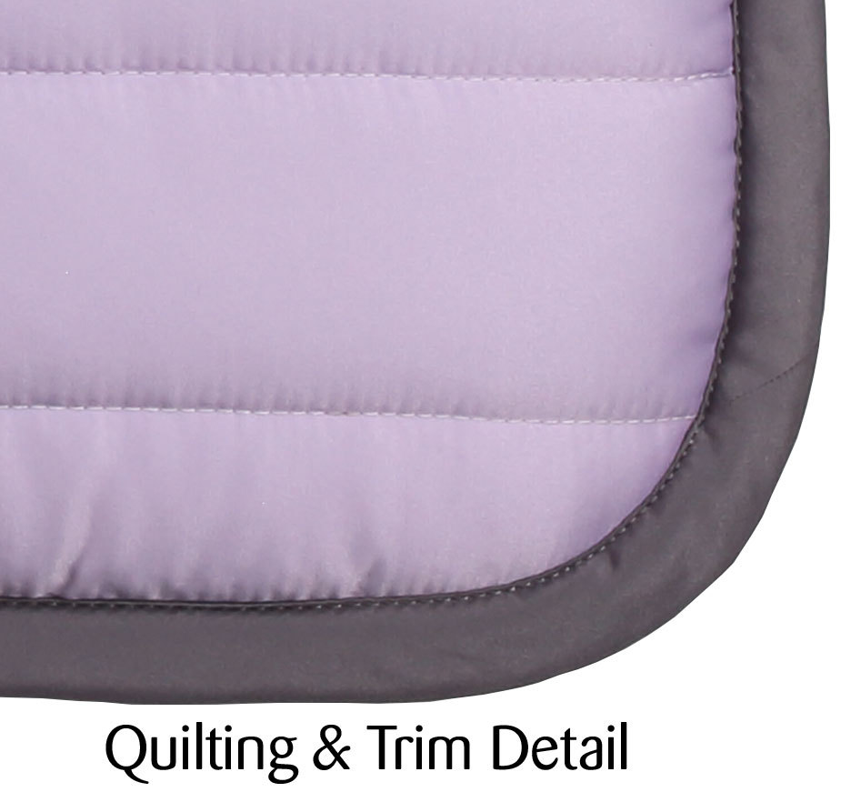 Dressage puffer pad mauve ii