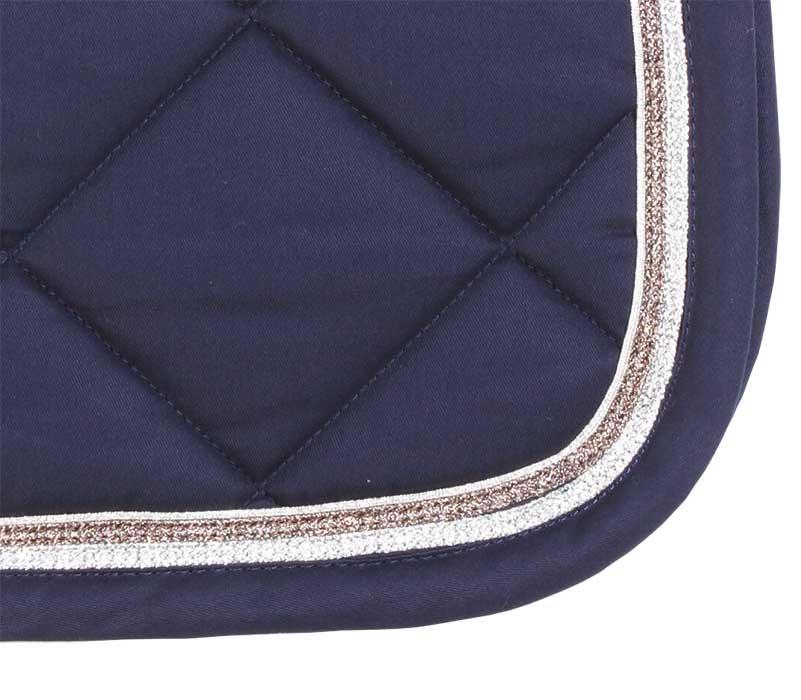 Glamour Dressage Saddlecloth navy