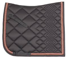 Glitz Dressage Saddlecloth charcoal