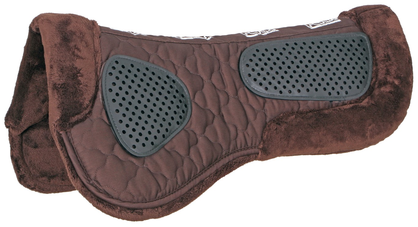Half Pad With Silicon Grip brown