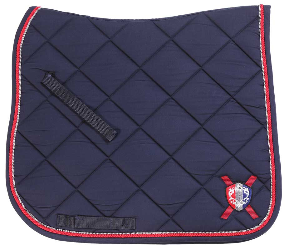 Monarch Dressage Saddlecloth navy
