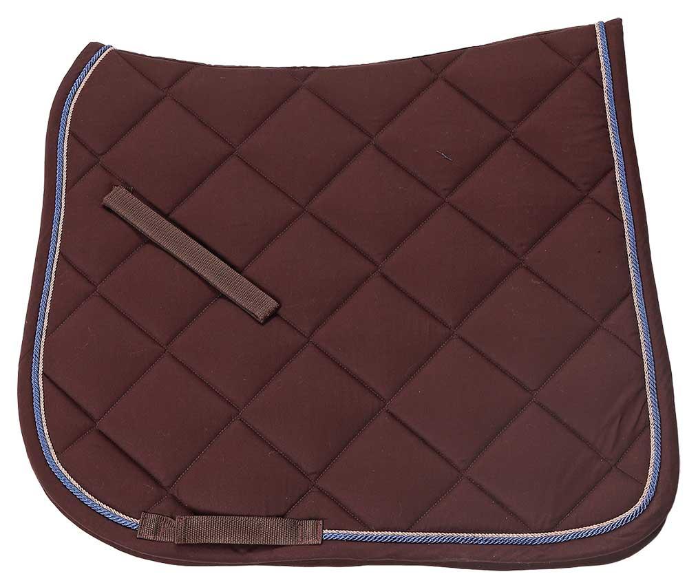 Royalty dressage saddlecloth chocolate