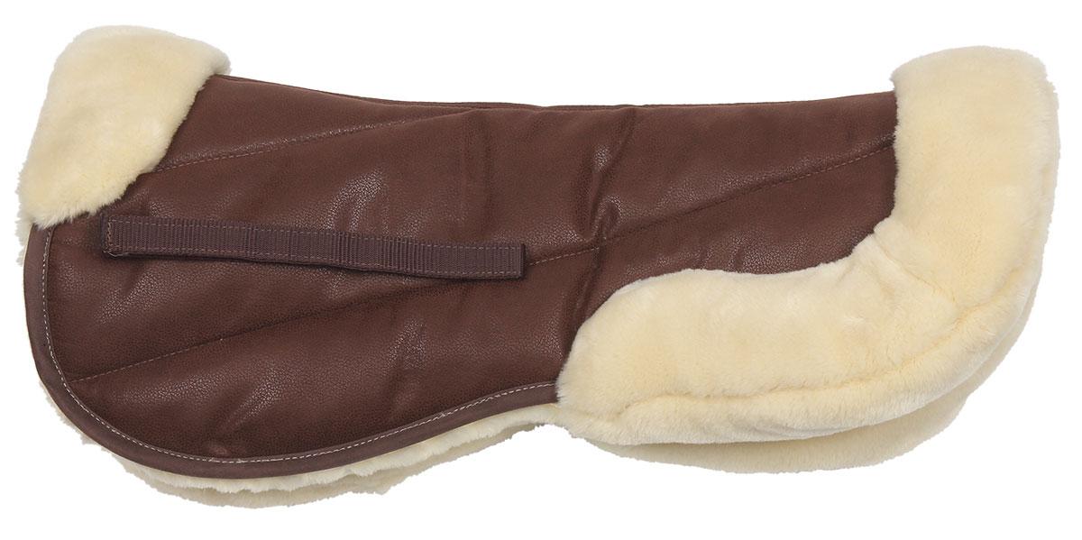 Suede/Fleece Half Pad brown