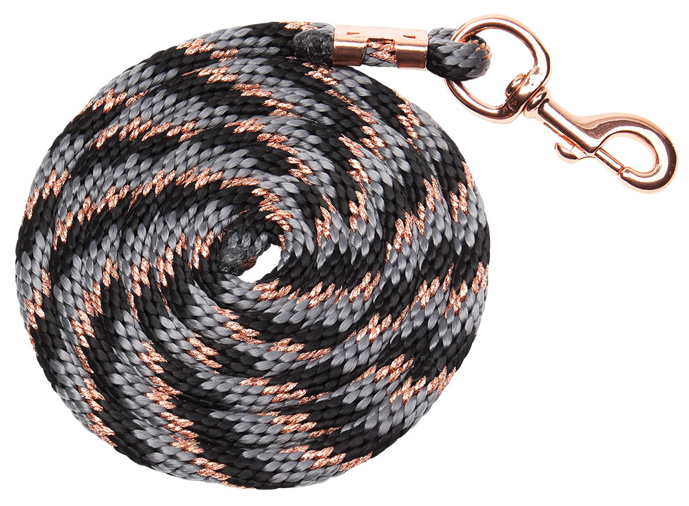 bracelet braided lead grey