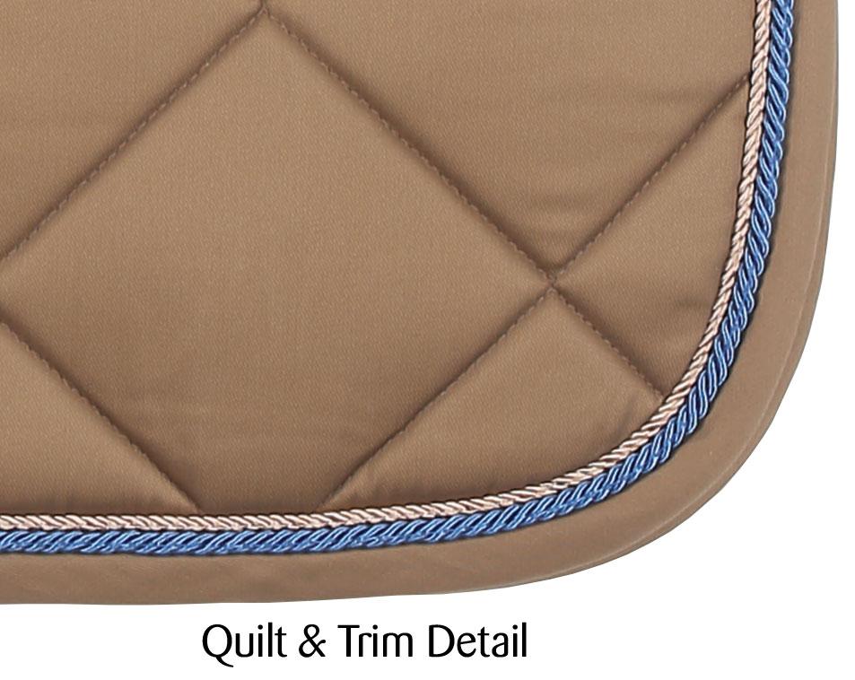 royalty dressage saddlecloth sand