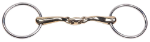 Curved Gold Training Snaffle