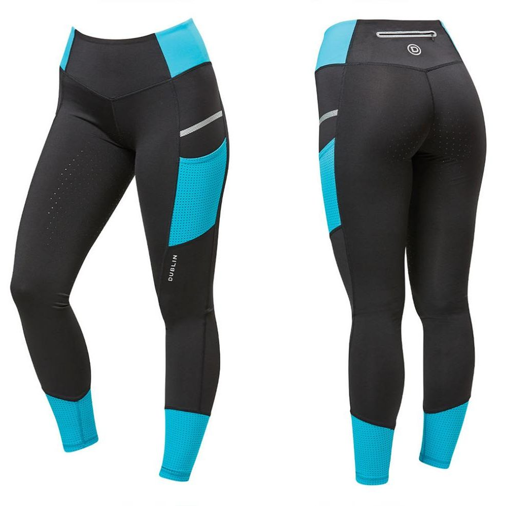 Power Performance Mid Rise Colour Block Tights