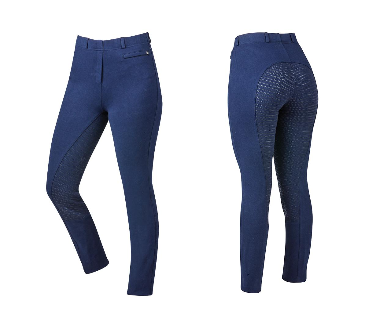 Supa Fit Pull On Gel Full Seat Year Round Jods navy
