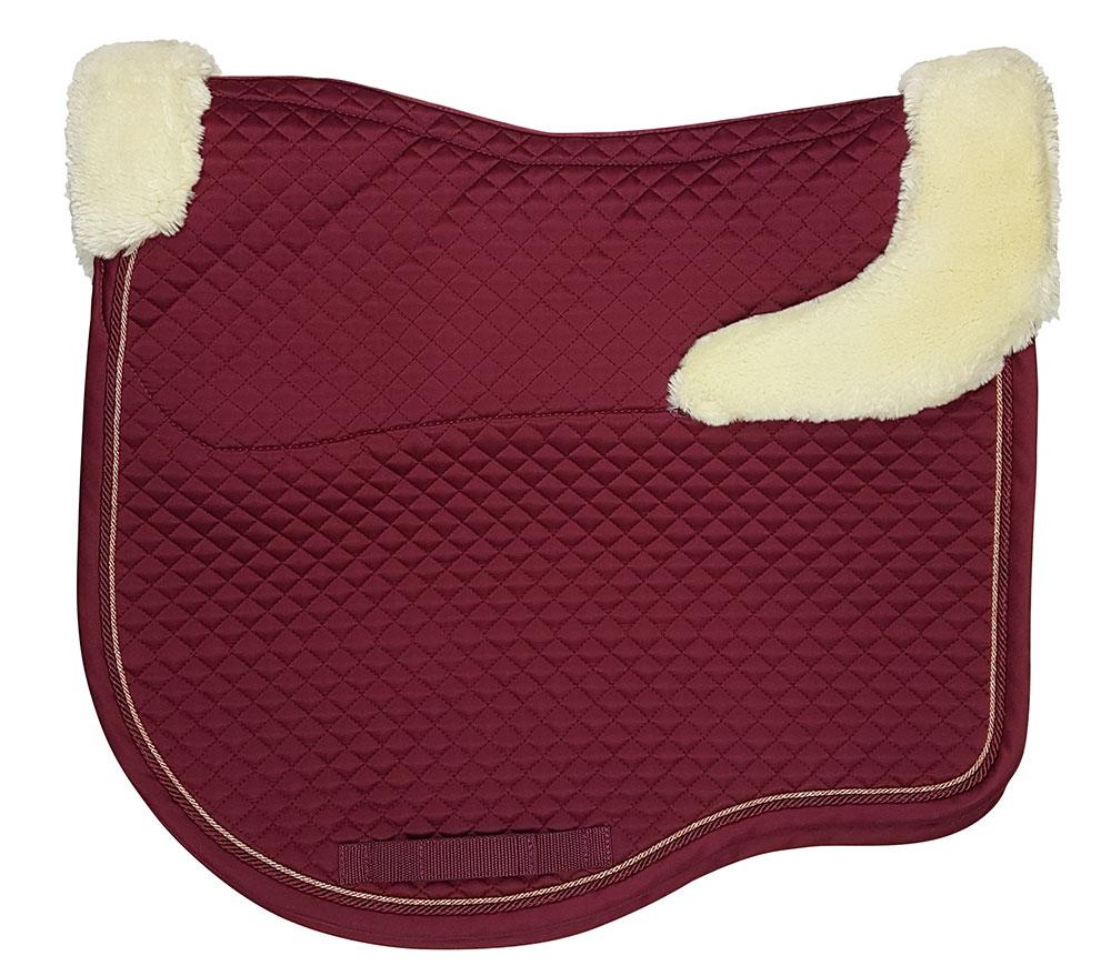 Estate Fleece Dressage Claret