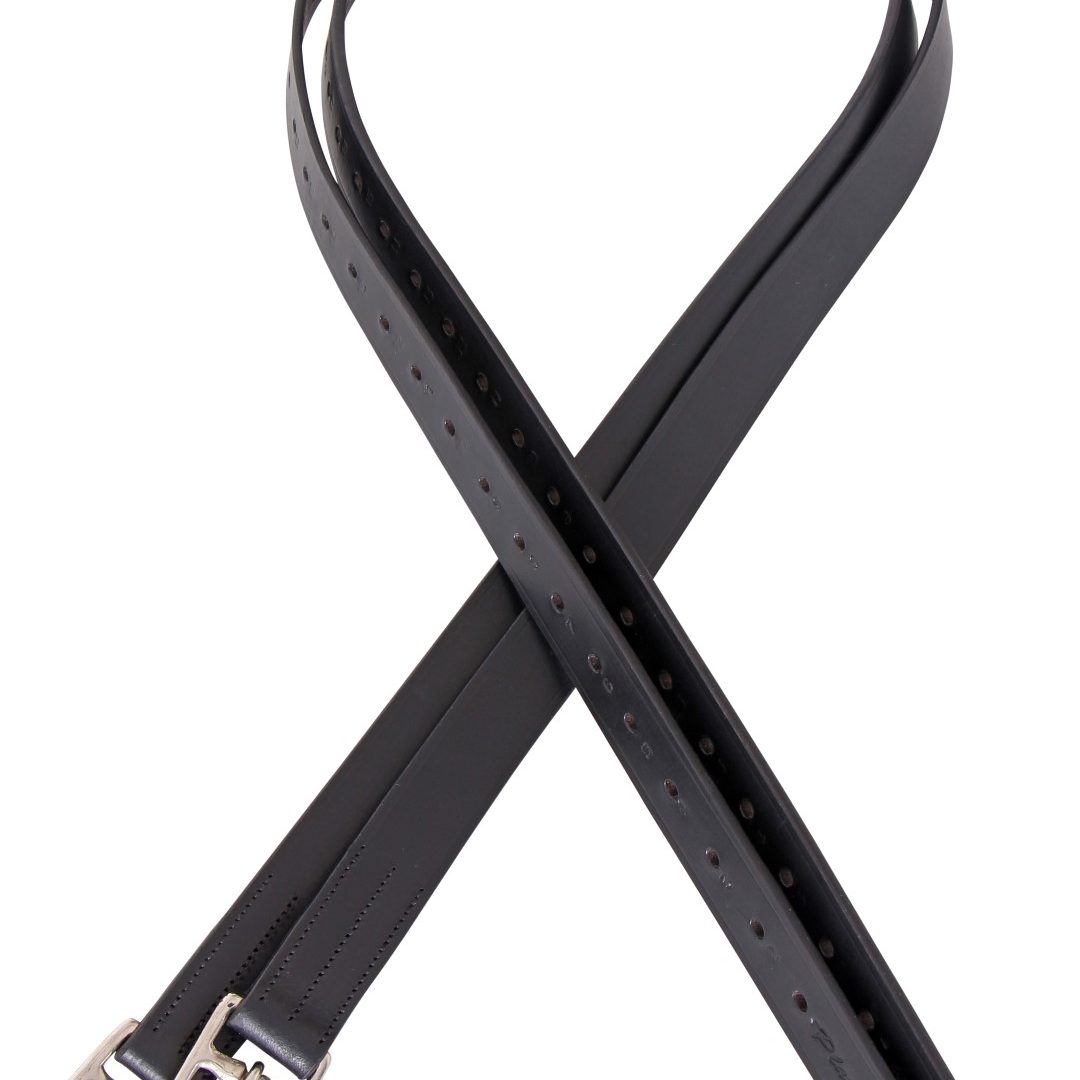 32mm pre stretched stirrup leathers