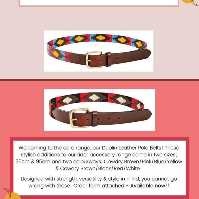 polo belts 1