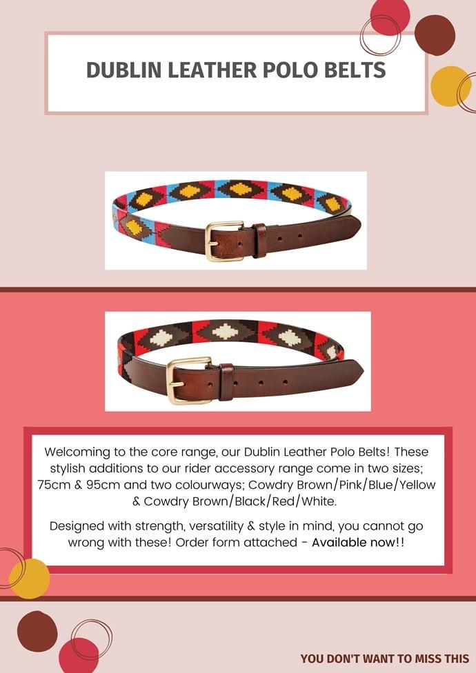 polo belts 1