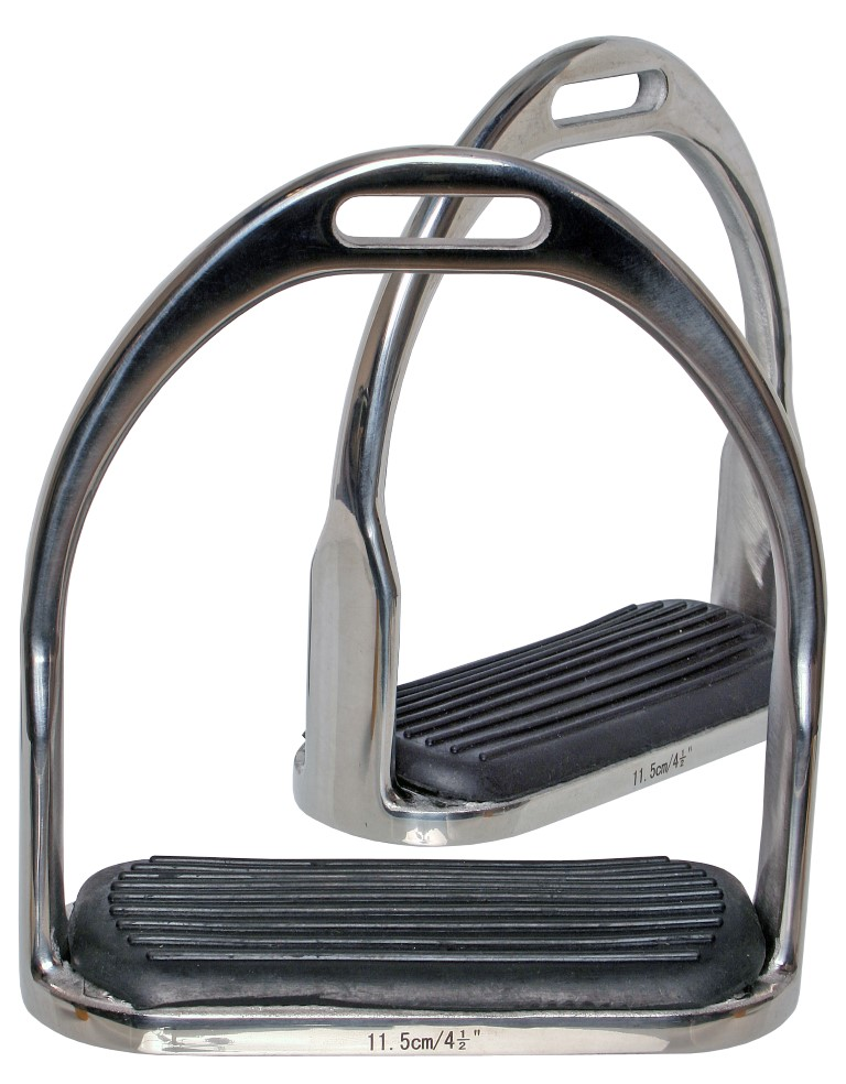 H505 ss stirrup irons with tread