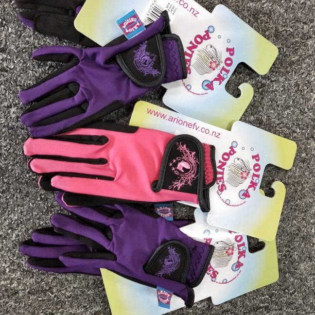 Polka Ponies Gloves