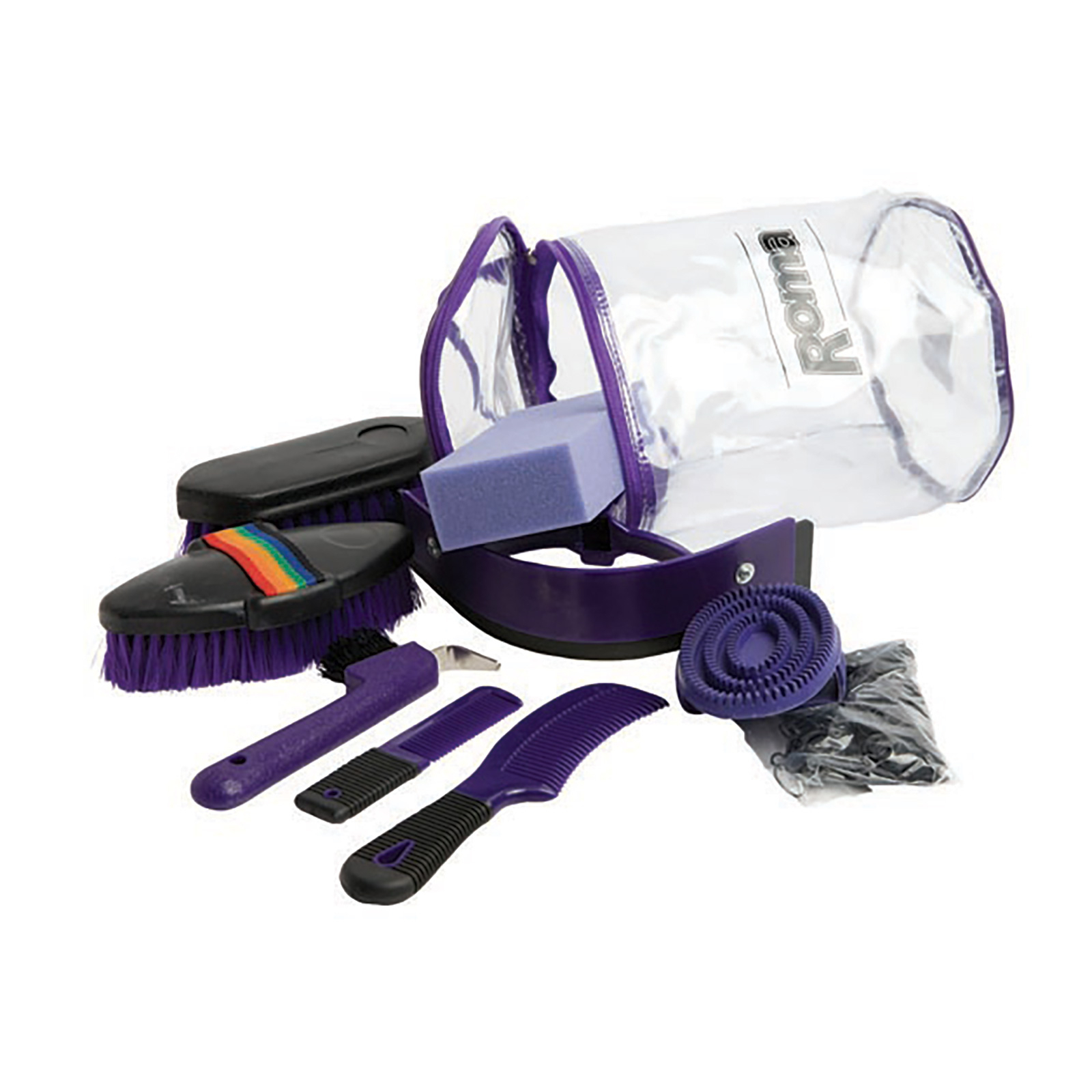 cylinder 9 piece grooming kit